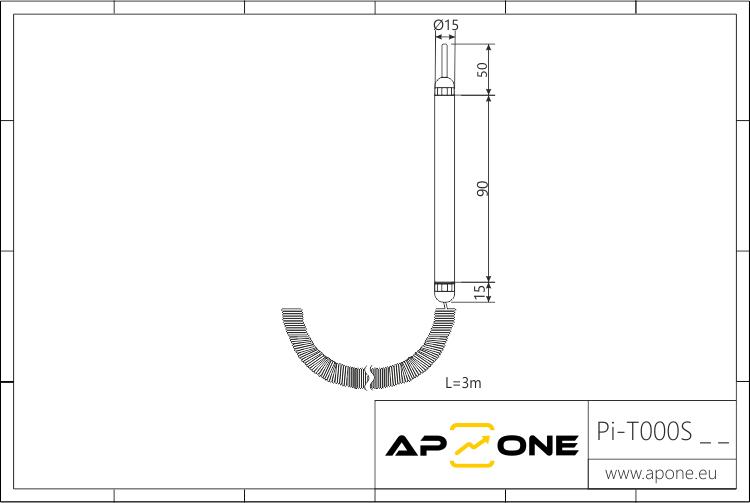 Rysunek techniczny do Pi-T000S__