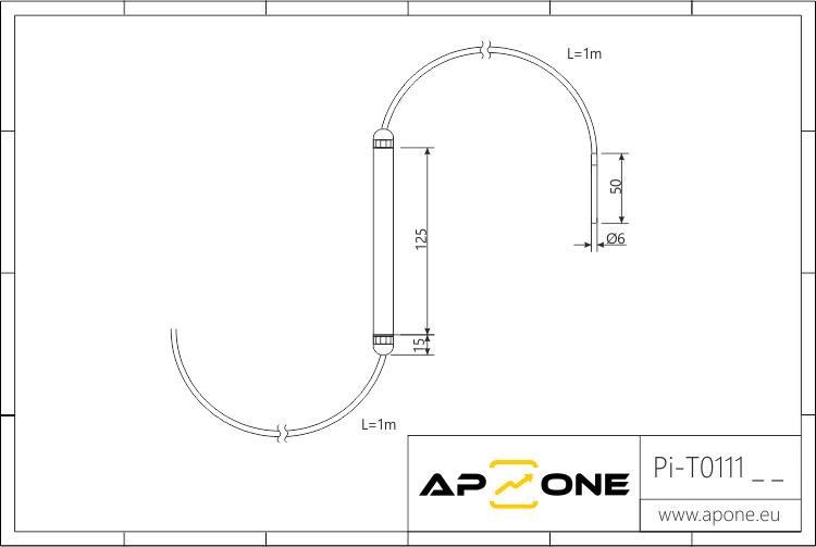Rysunek techniczny do Pi-T0111xx